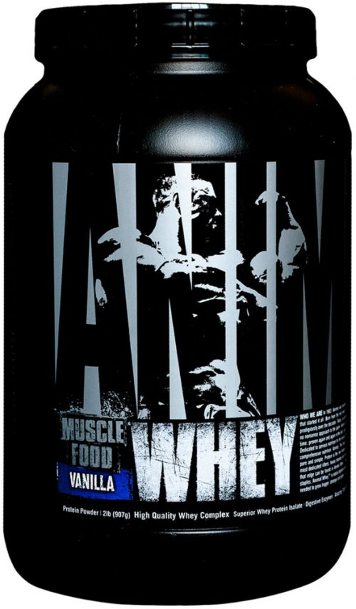 Universal Nutrition Animal Whey - 2lbs Vanilla