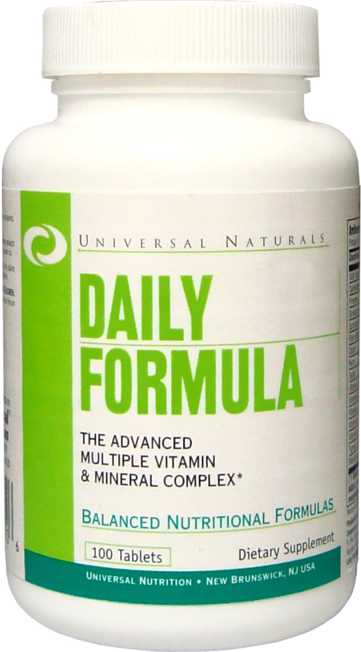 Universal Nutrition Daily Formula - 100 Tablets