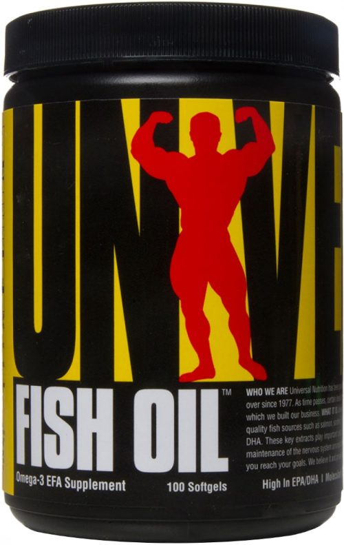 Universal Nutrition Fish Oil - 100 Softgels