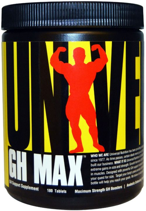 Universal Nutrition GH Max - 180 Tablets
