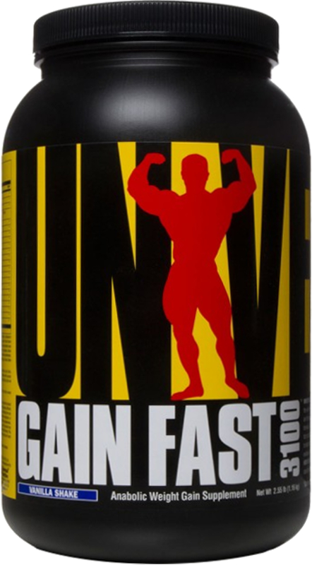 Universal Nutrition Gain Fast 3100 - 2.55lbs Vanilla Shake