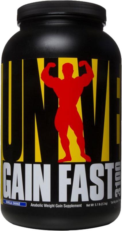 Universal Nutrition Gain Fast 3100 - 5.1lbs Vanilla Shake