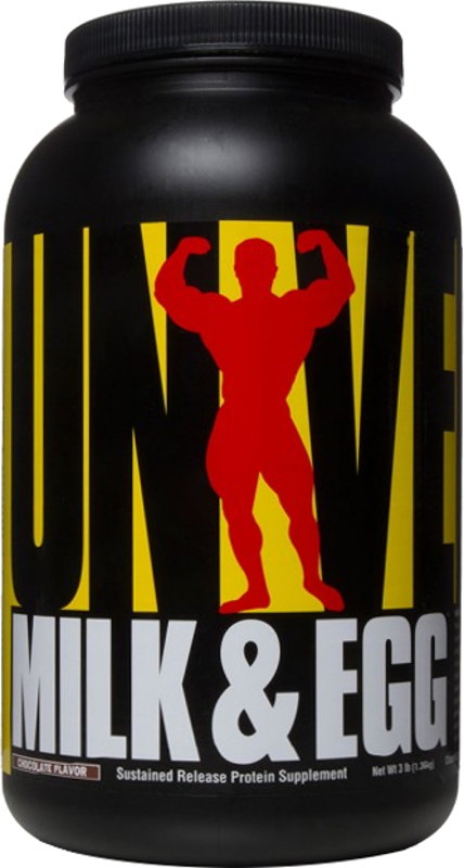 Universal Nutrition Milk & Egg - 3lbs Chocolate