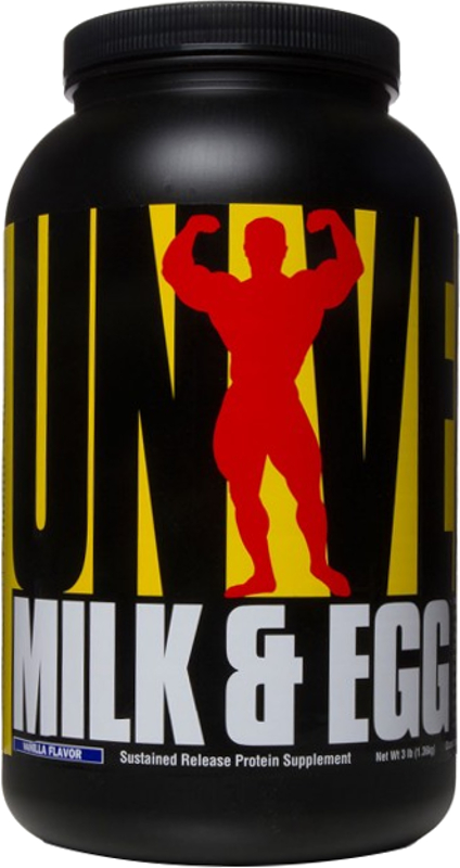 Universal Nutrition Milk & Egg - 3lbs Vanilla