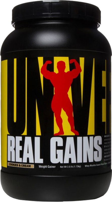 Universal Nutrition Real Gains - 3.8lbs Cookies & Cream