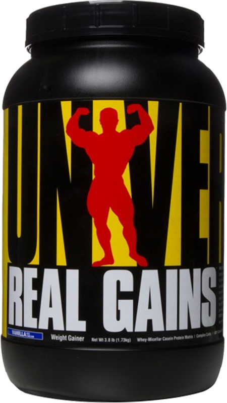 Universal Nutrition Real Gains - 3.8lbs Vanilla Ice Cream