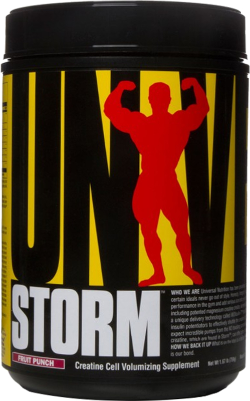Universal Nutrition Storm - 80 Servings Fruit Punch