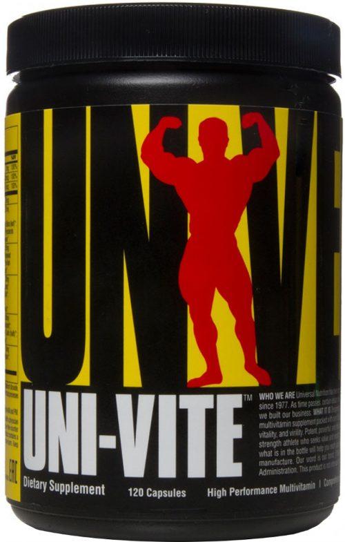 Universal Nutrition Uni-Vite - 120 Capsules