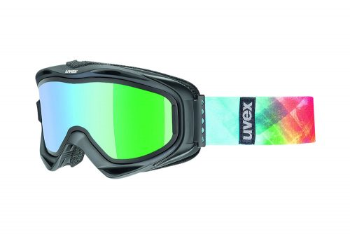 Uvex g.gl 300 TO Goggles - black mat dl/itm green, one size