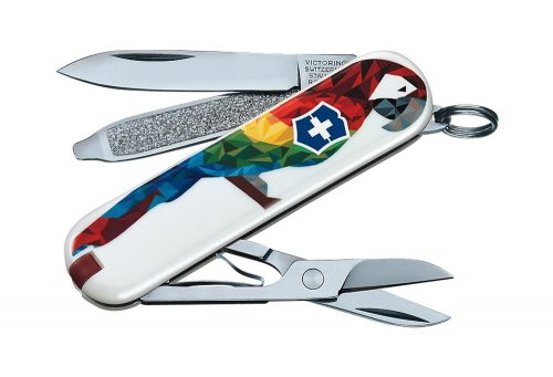 Victorinox Swiss Army Classic SD Pocket Knife - guacamaya, one size