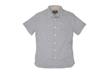Wilder & Sons Burnside Short Sleeve Button Down Shirt - Men's