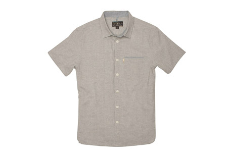 Wilder & Sons Burnside Short Sleeve Button Down Shirt - Men's