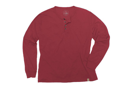 Wilder & Sons Classic Henley Long Sleeve Shirt - Men's