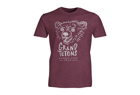 Wilder & Sons Grand Tetons National Park Short Sleeve T-Shirt - Men's
