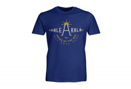 Wilder & Sons Hale Akala National Park Short Sleeve T-Shirt - Men's - royal, small