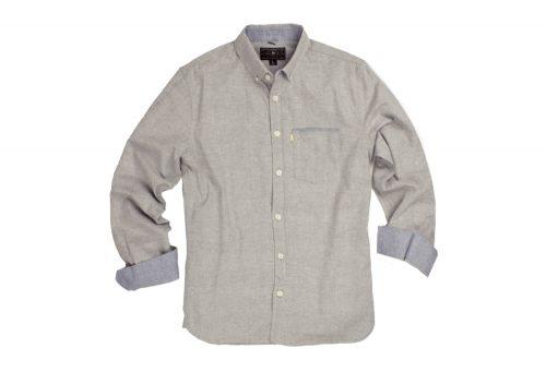 Wilder & Sons Hawthorne Long Sleeve Button Down Shirt - Men's - stone, medium