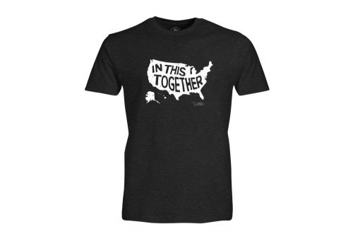 Wilder & Sons In This Together T-Shirt - Men's - charcoal, small