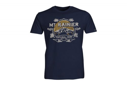 Wilder & Sons Mount Rainier National Park SS Tee 2 - Men's - navy, small