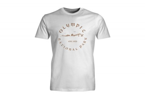 Wilder & Sons Olympic National Park Short Sleeve T-Shirt - Men's - white, small