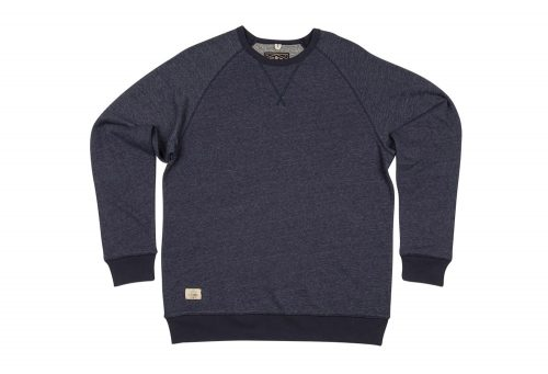 Wilder & Sons Oswald Fleece Crew - Men's - indigo/grey, x-large