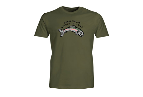 Wilder & Sons PDX Fish Tee - Men's