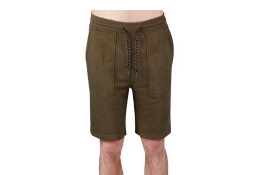 Wilder & Sons Sandy Fleece Shorts - Men's - military olive, medium