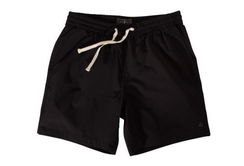 "Wilder & Sons Seaside Volley 6"" Shorts - Men's - black, small"