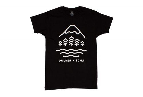 Wilder & Sons Simple Times Tee - Men's - black, medium