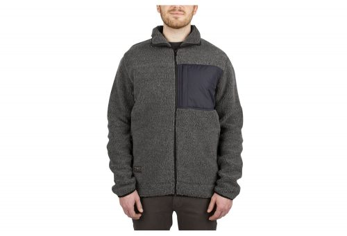 Wilder & Sons Steamboat Sherpa Fleece - Men's - charcoal, small