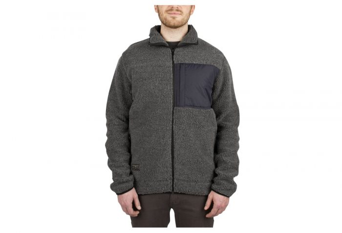 Wilder & Sons Steamboat Sherpa Fleece - Men's - charcoal, x-large
