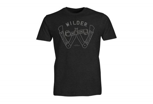 Wilder & Sons Survival Tee - Men's - charcoal heather, medium