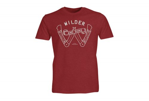 Wilder & Sons Survival Tee - Men's - red, small