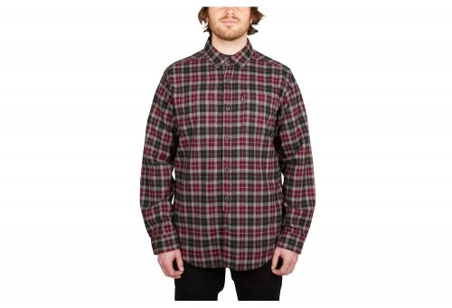 Wilder & Sons Umpqua Flannel - Men's - red, medium