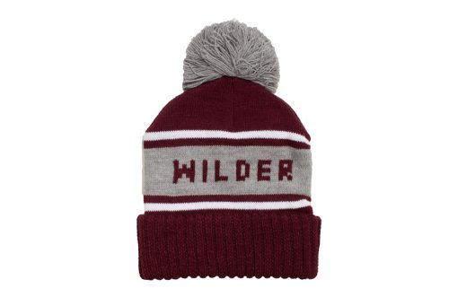 Wilder & Sons Wilder Pom Beanie - burgundy, one size