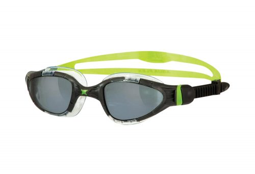 Zoggs Aqua Flex L/XL Goggles - black/green, one size