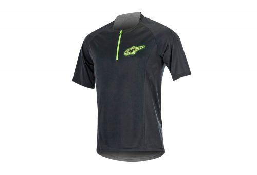 alpinestars Rover 2 SS Jersey - Men's - black/bright green, x-large
