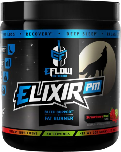 eFlow Nutrition ELIXIR PM - 40 Servings Strawberry Kiwi
