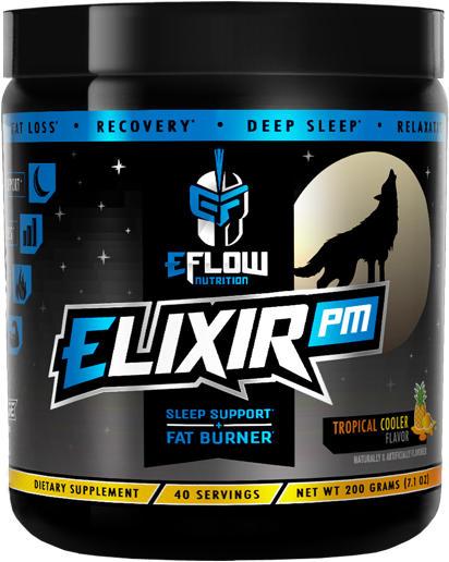 eFlow Nutrition ELIXIR PM - 40 Servings Tropical Cooler