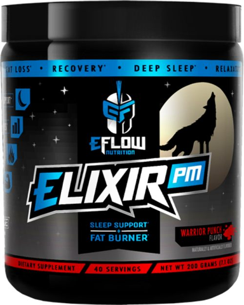 eFlow Nutrition ELIXIR PM - 40 Servings Warrior Punch