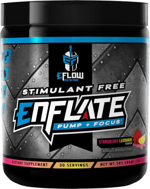 eFlow Nutrition ENFLATE - 30 Servings Strawberry Lemonade