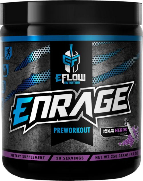 eFlow Nutrition ENRAGE - 30 Servings Ninja Nerds