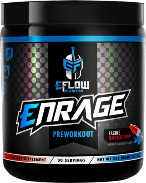 eFlow Nutrition ENRAGE - 30 Servings Raging Rocket Pop