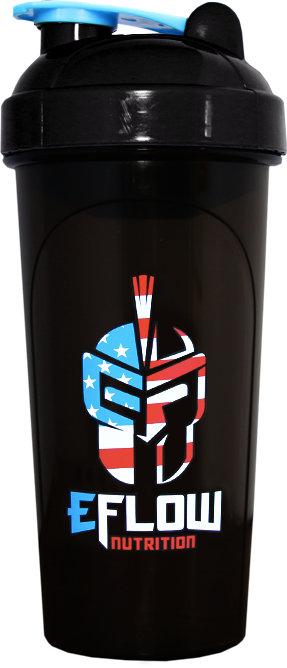 eFlow Nutrition Shaker Bottle - 24oz Freedom