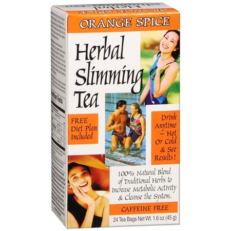 21st Century Herbal Slimming Tea Orange Spice - 0.06 oz.