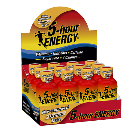 5-Hour Energy Energy Shot Orange - 2 oz.