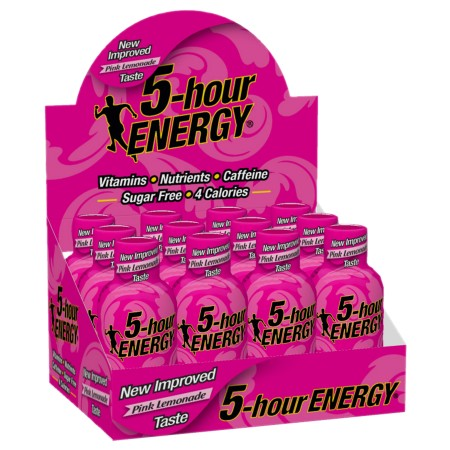 5-Hour Energy Energy Shot Pink Lemonade - 1.93 oz.