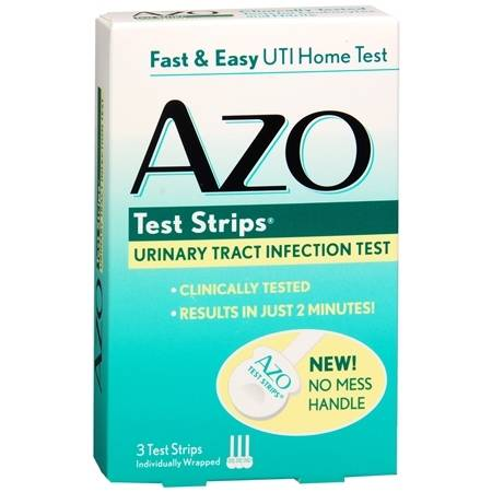 AZO Test Strips for Urinary Tract Infection - 3 ea