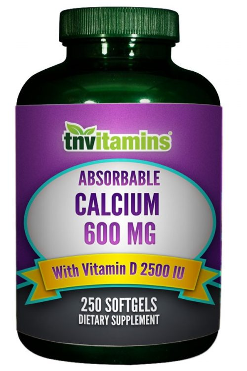 Absorbable Calcium Carbonate 600 Mg