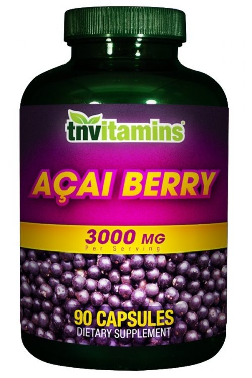 Acai Berry 3000 Mg Capsules