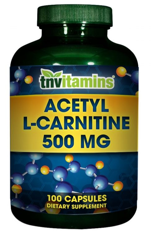Acetyl L Carnitine 500 Mg